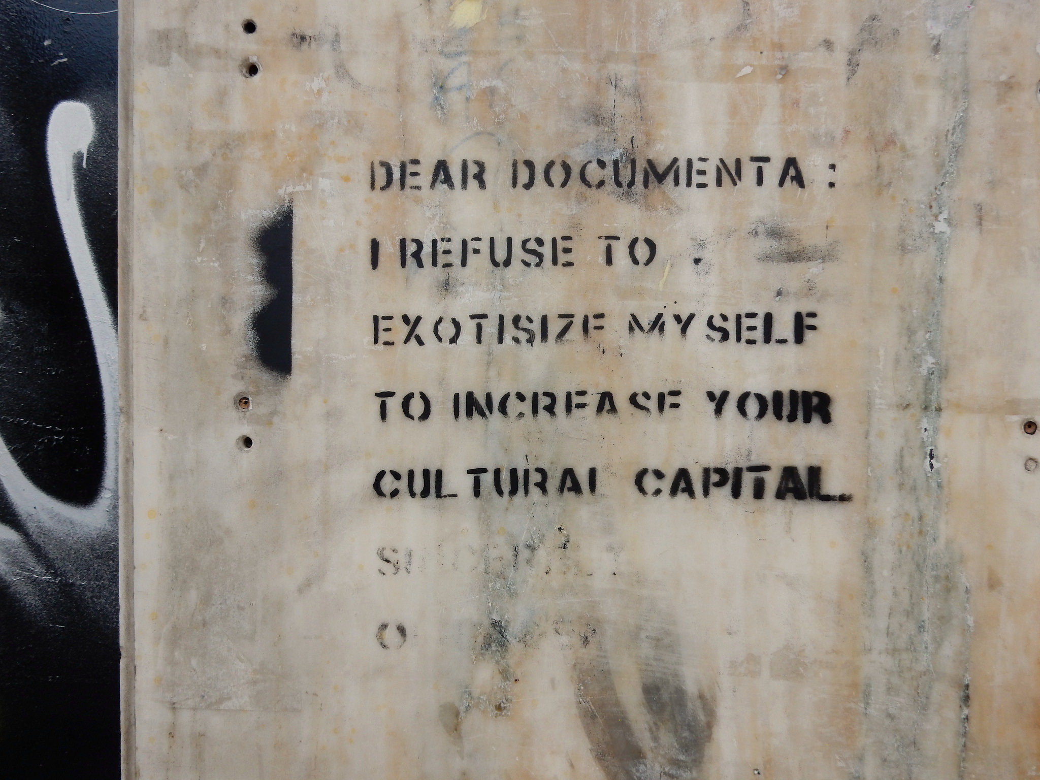 Sincerely, the Indigenous: Street Level Responses to Documenta 14 in Athens
